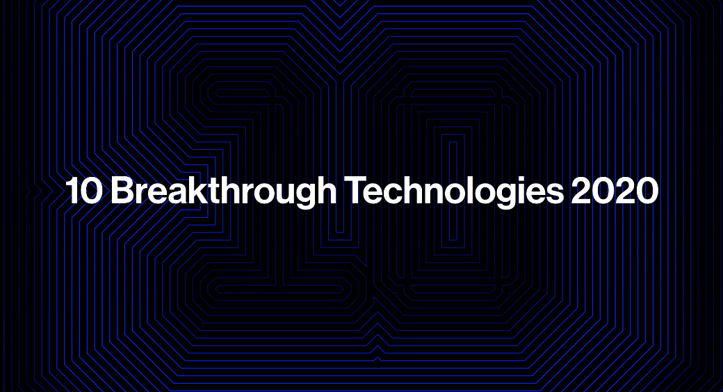 ranking de tecnologias inovadoras do MIT