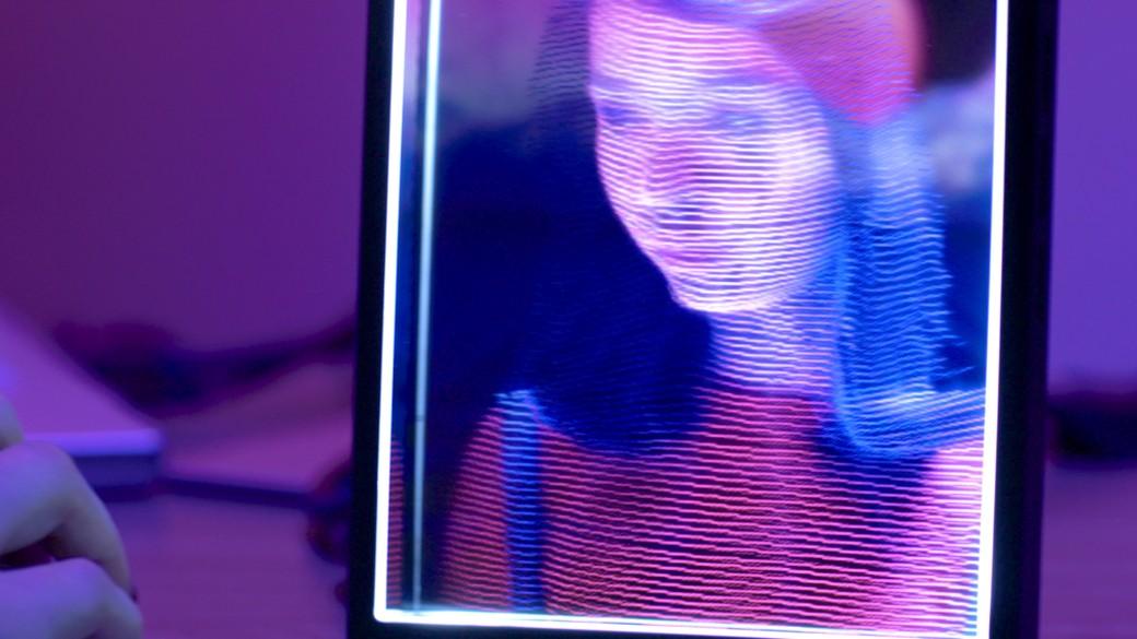 Um holograma para chamar de seu