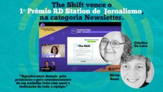 The Shift é escolhida como Newsletter do Ano