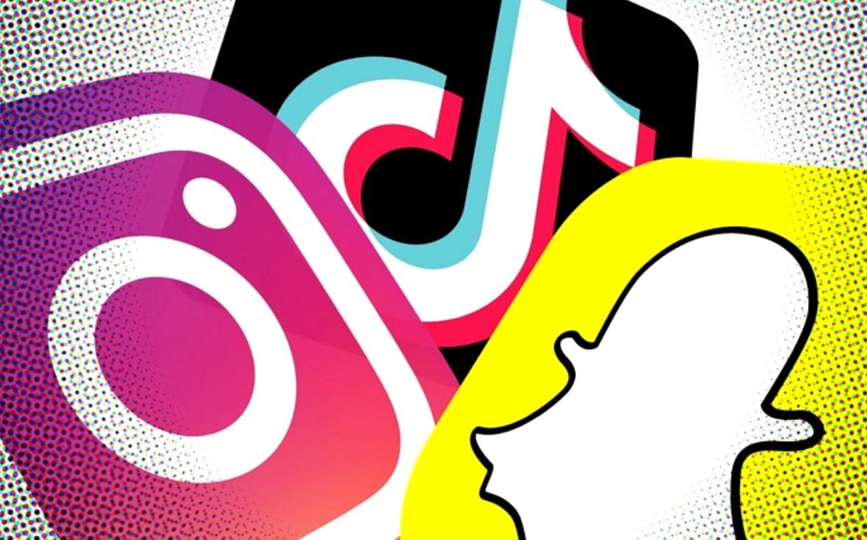TikTok, Snapchat e Instagram disputam a coroa social